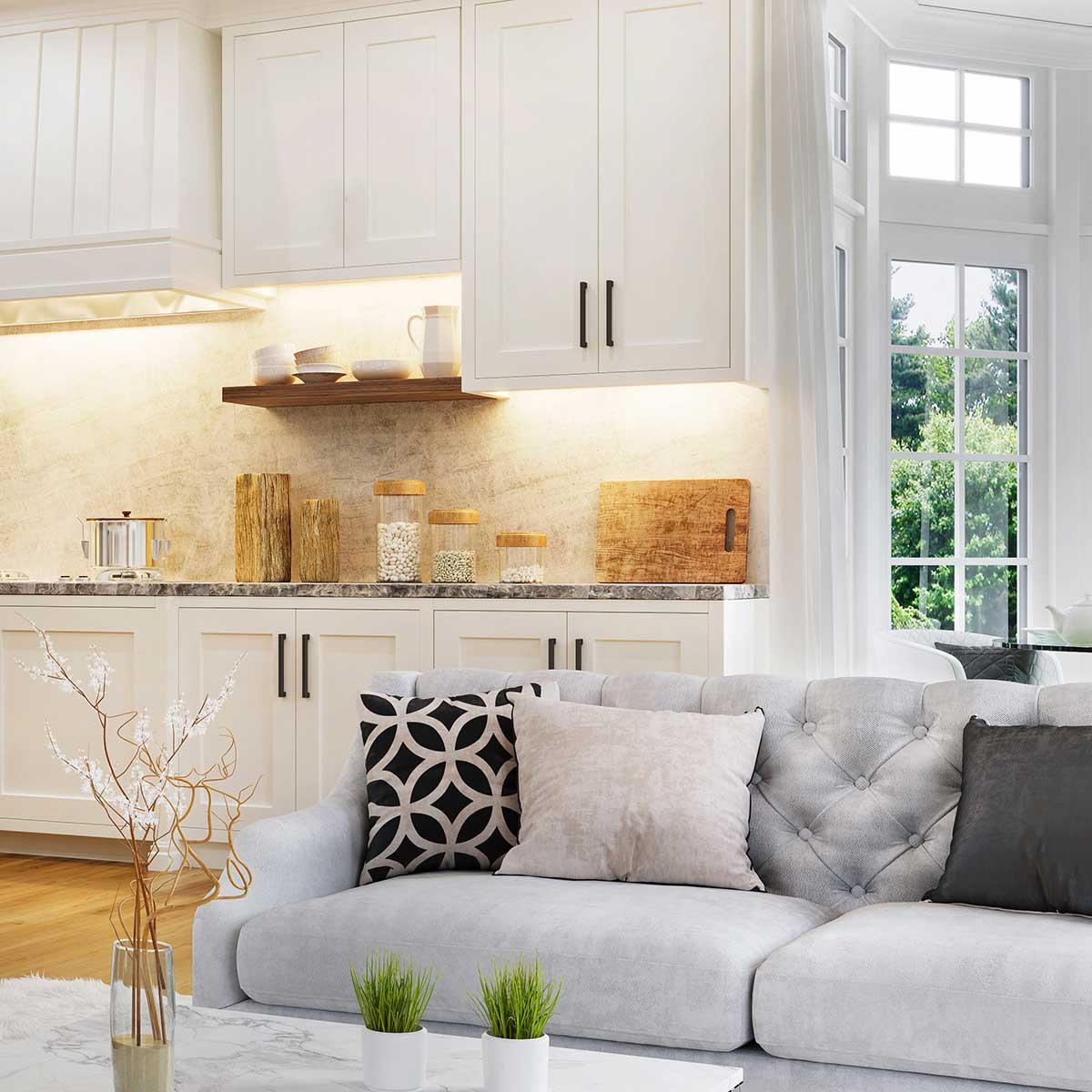 Kitchen scene from Heathland Homes Housing Developer Business